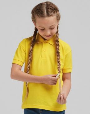 Kids' Poly Cotton Polo