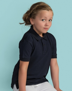 Kids' Cotton Polo