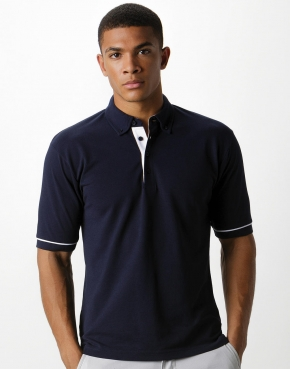 Polo con collo in contrasto button down Classic Fi