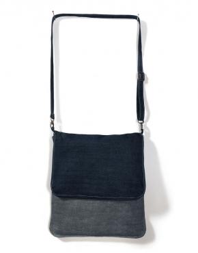 Denim Messenger Bag - CUD02