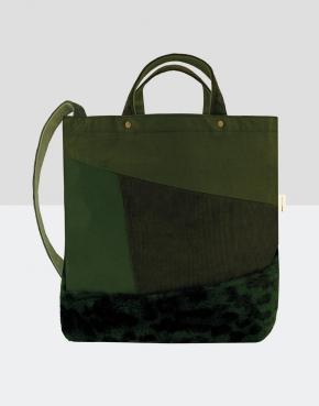 Satomi Faux Fur Shoulder Bag