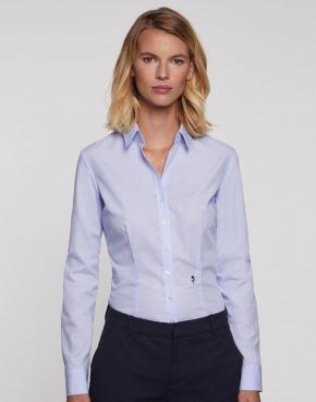 Seidensticker Ladies' Slim Fit Fine Liner Shirt LS