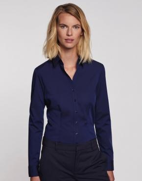 Camisa Slim Fit manga larga Mujer