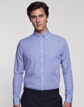 Camisa modern fit check