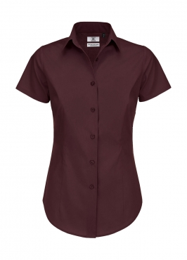 Black Tie SSL/women Poplin Shirt
