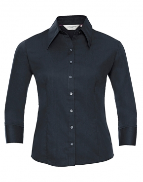 Ladies Tencel Fitted 3/4 sleeve