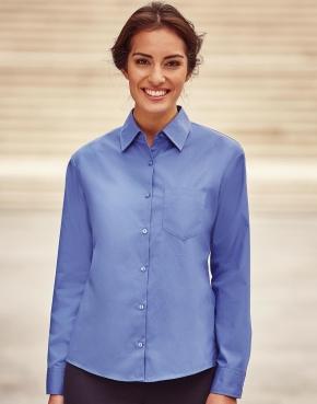Ladies' Cotton Poplin Shirt LS