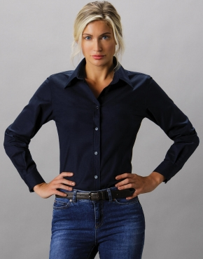 Women's Tailored Fit Workwear Oxford Shirt