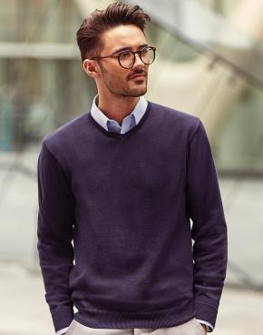 V-Neck Knit-Pullover