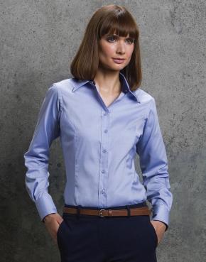 Women's Contrast Premium Oxford Shirt LS