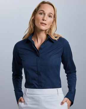 Ladies' LS Ultimate Stretch Shirt