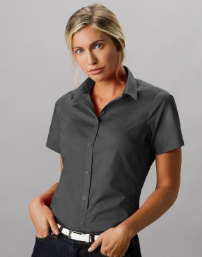 Camicia donna Tailored Fit Poplin SSL