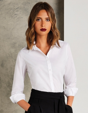 Women's Tailored Fit Poplin Shirt