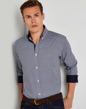 Camisa manga larga Gingham