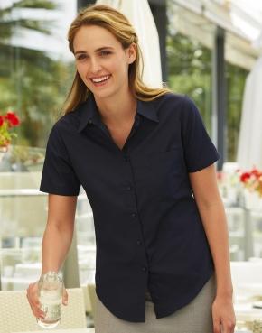 Popelin Shirt Short Sleeve Lady-Fit