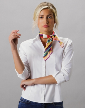 Women's Tailored Fit Premium Oxford 3/4 Shirt