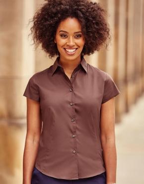 Körperbetonte Stretch-Bluse