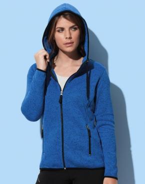 Active Knit Fleece Jacket Women