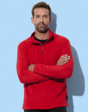 Active Fleece Half Zip Men