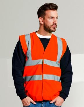 4-Band Safety Waistcoat Class 1/Class 2