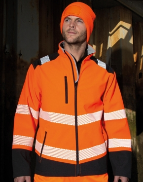 Printable Ripstop Safety Softshell