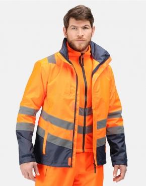 Pro Hi Vis 3-in-1 Jacket
