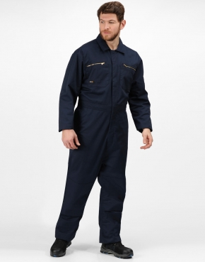 Pro Zip Fasten Coverall (Long)
