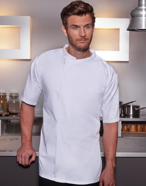 Chef's Shirt Basic Short Sleeve
