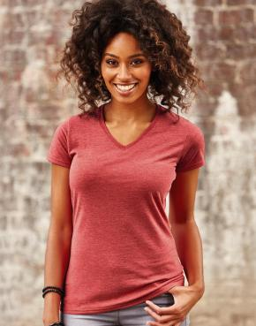 Ladies V-Neck HD Tee