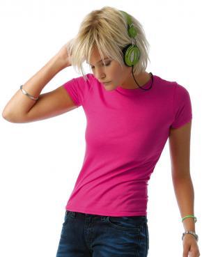 Ladies' Polycotton T-Shirt - TW251