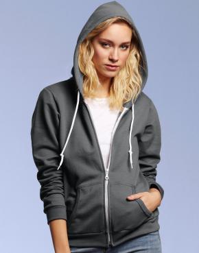 Women's Fashion Full-Zip Hooded Sweat