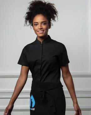 Bargear™ Mandarin Collar Shirt Lady