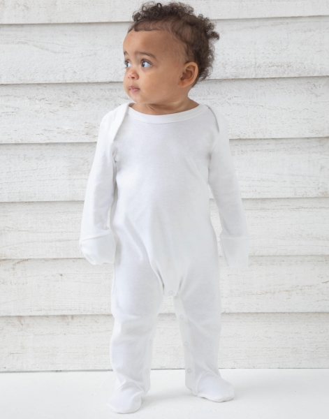Organic Sleepsuit with Scratch Mitts