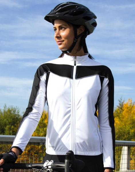 Top ciclismo manga larga mujer