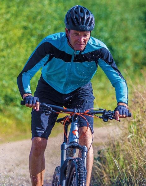 Top ciclismo manga larga hombre