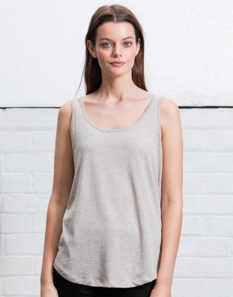 Luźna damska koszulka na ramiączkach
