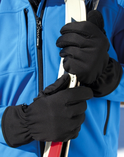 Guantes softshell Thermal