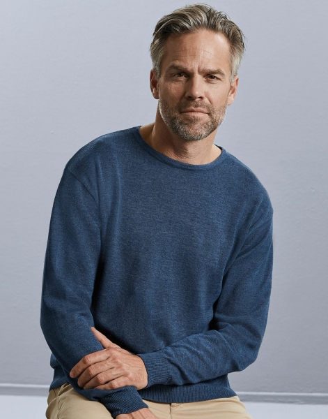 Men's Crew Neck Knitted Pullover