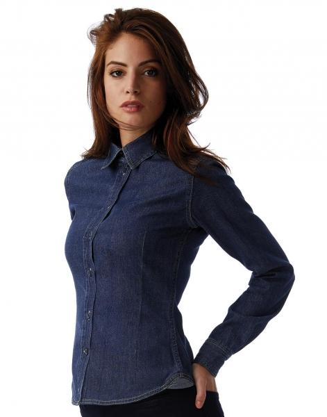 DNM Vision/women Denim Shirt LS