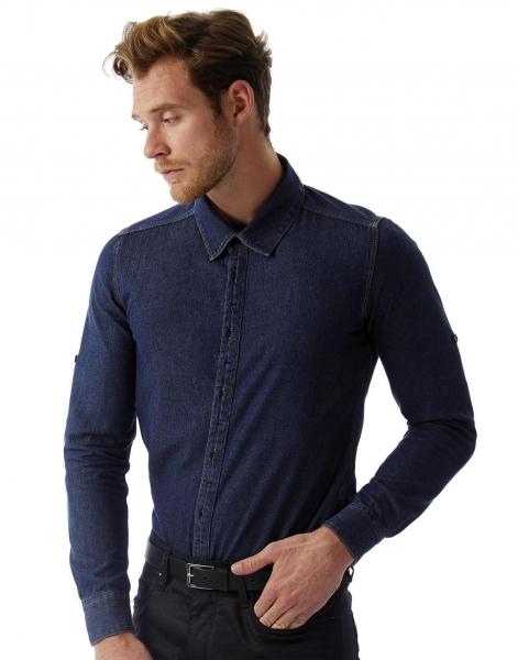 DNM Vision/men Denim Shirt LS