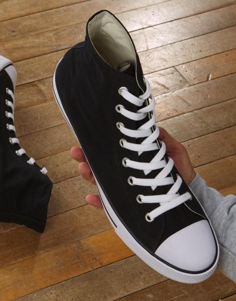 Zapatillas imprimibles XL y de caña alta