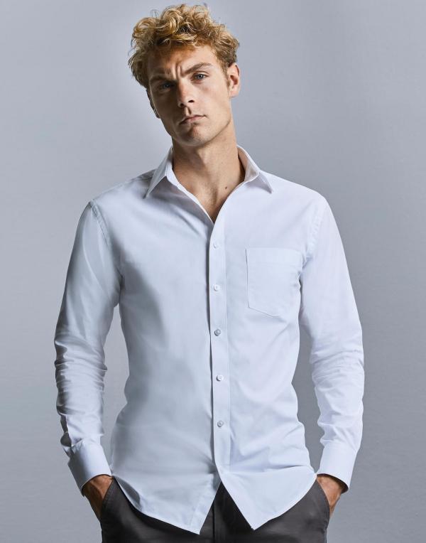 Men's LS Tailored Coolmax® Shirt