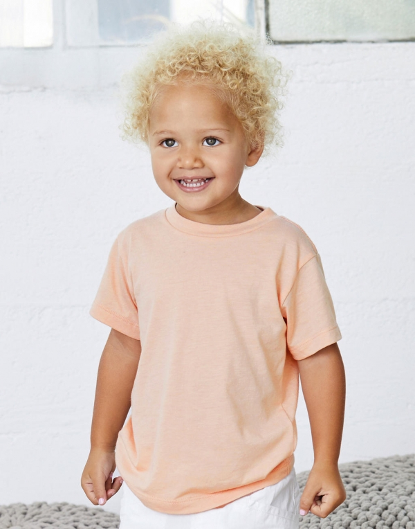 Camiseta niño Triblend manga corta