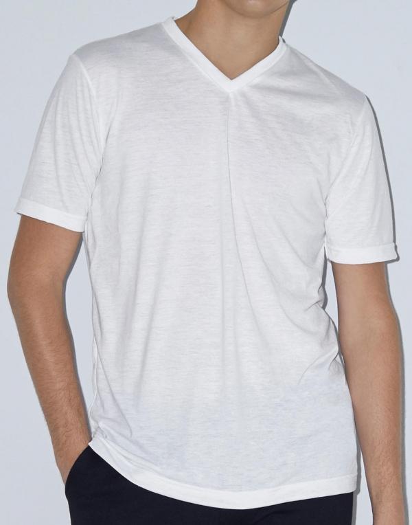 Unisex Sublimation V-Neck T-Shirt