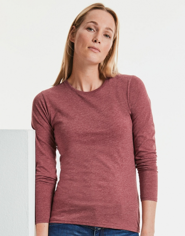 Ladies Long Sleeve HD T