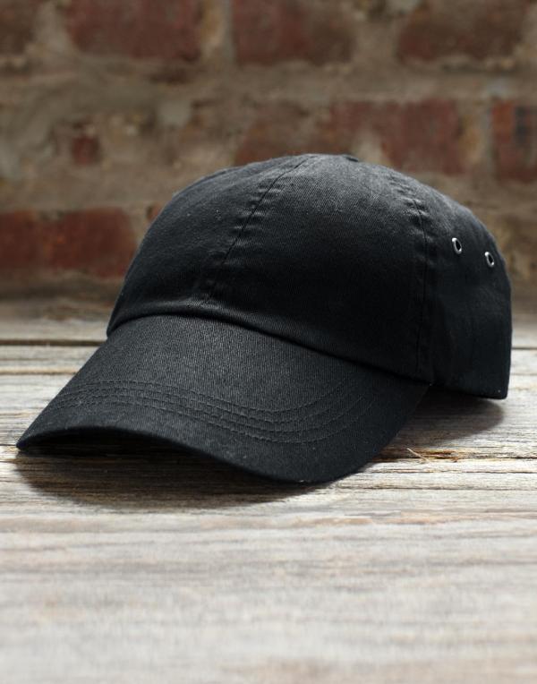 Gorra de sarga perfil bajo