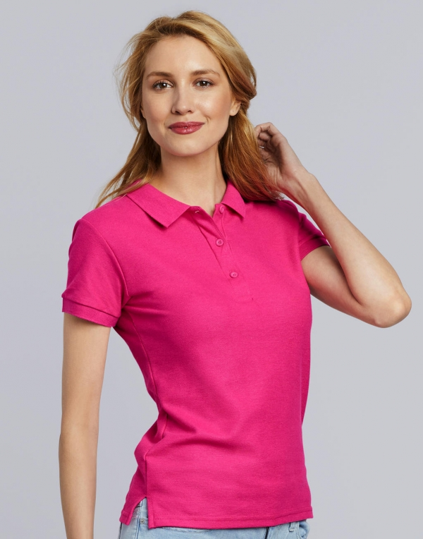 Premium Cotton Ladies' Double Piqué Polo