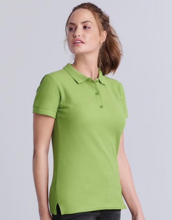 Premium Cotton Ladies' Double Piqué Polo