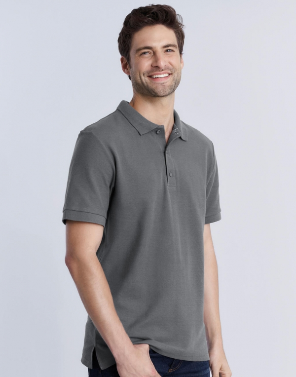 Premium Cotton Double Piqué Polo
