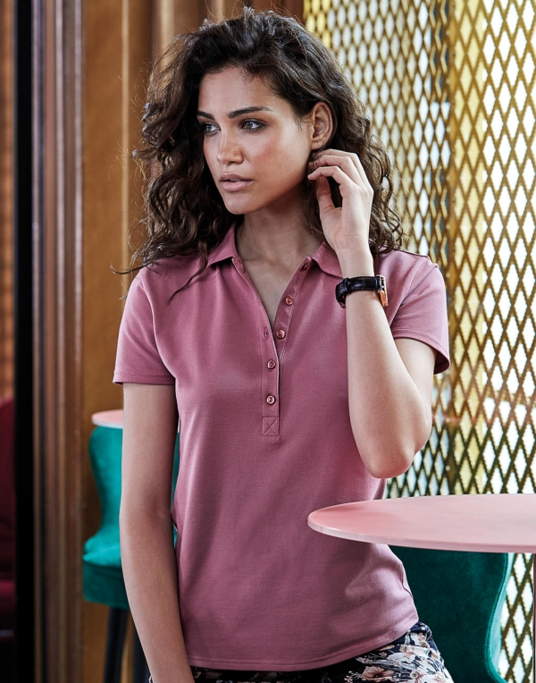 Ladies' Luxury Stretch Polo